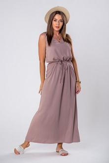 Długa sukienka na lato <3