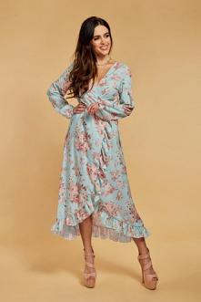 Piękna letnia sukienka z ro...