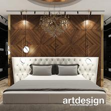 Elegancka sypialnia z nutą klasyki i pięknym fornirowanym zagłówkiem łóżka | AESTHETIC PLEASURE | Wnętrza domu