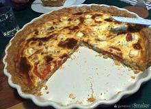 Tarta na słono wersja z fetą, pomidorami i oregano [klik]