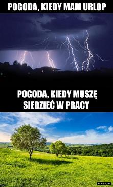 Pogoda podczas urlopu