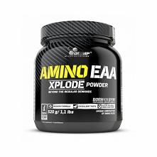 Aminokwasy EAA najlepszej jakości, usprawniające syntezę białek, o działaniu antykatabolicznym.