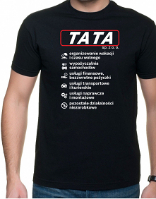 koszulka na dzień taty