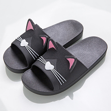 Słodziaśne klapki na lato w kotki i inne wzory. Kliknij w link przeniesie Cię do aukcji z aliexpress