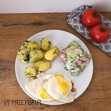 Szybki Obiad: Jajka Sadzone...