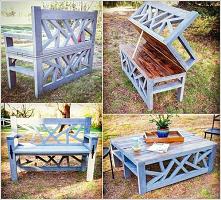 ławka i stolik w jednym ;)