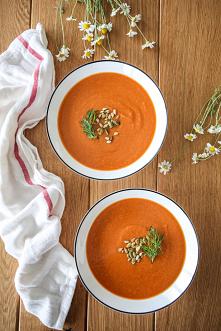 Soczewicowa pomidorówka, zdrowa, sycąca, prosta do przygotowania
