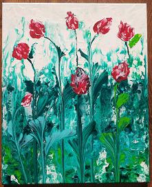 Tulipany. Obraz 40 x 50 cm,...