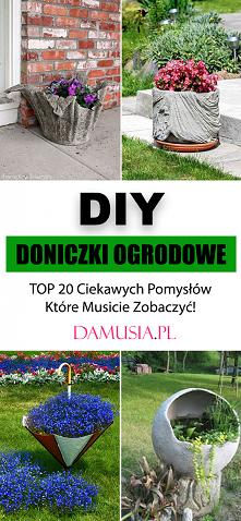 DIY Doniczki Ogrodowe – TOP...