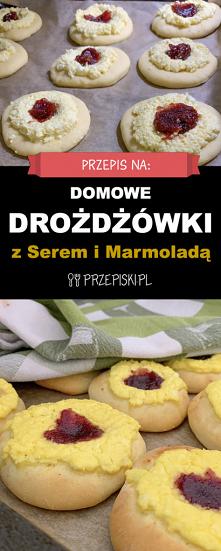 Pyszne Domowe Drożdżówki z ...