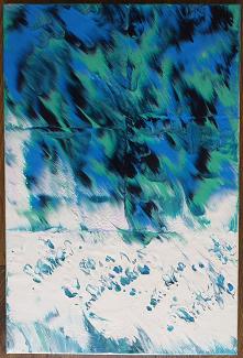 Obraz akrylem, 40 x 60 cm, ...