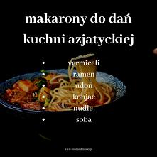 Poznak makarony do dań kuchni azjatyckiej :)