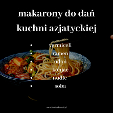 Poznak makarony do dań kuch...