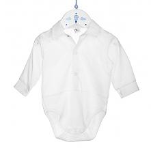 Koszulo body dla niemowlaka to idealne rozwiązanie na chrzest czy też inną, ważną uroczystośc. Jest to ubranko eleganckie aczkolwiek bardzo wygodne!