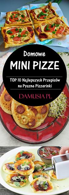 Domowe Pizzerinki – TOP 10 Pysznych Przepisów na Mini Pizze