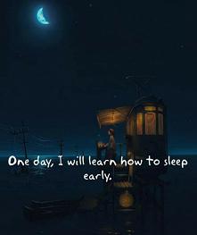pewnego dnia zasnę wcześniej