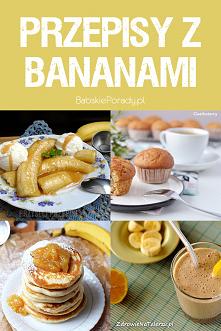 10 Prostych Przepisów z Bananem w Roli Głównej #pomysły #banan