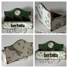 Herbaciarka, pudełko na her...
