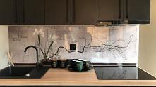 Panel MDF wzór R 53, alternatywa dla szkła i glazury.