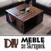 DIY Meble ze Skrzynek: 10 Ciekawych Pomysłów na Ręcznie Robione Meble