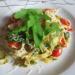 Brak pomysłu na obiad ?  Tagliatelle z pesto i pomidorkami koktajlowymi ♥️♥️♥️ Lekkie smaczne i tanie