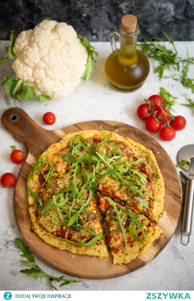 HIT- Fit pizza z kalafiora