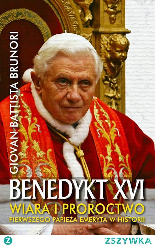 """Wiele słów i gestów Benedykta było głęboko rewolucyjnych – niestety media nie zachwyciły się nimi tak, jak w przypadku jego następcy Franciszka. Zamiast tego wyłapują wpadki, rozdmuchują skandale. Nikt nie dostrzega, że Benedykt XVI jest wielkim papieżem, papieżem nowatorskim. Świadczą o tym jego czyny, z aktem abdykacji na czele. """"Benedykt XVI. Wiara i proroctwo pierwszego papieża w historii"""" to ciekawa książka dla każdego, kto chce lepiej zrozumieć tę wybitną postać współczesnego Kościoła katolickiego."""
