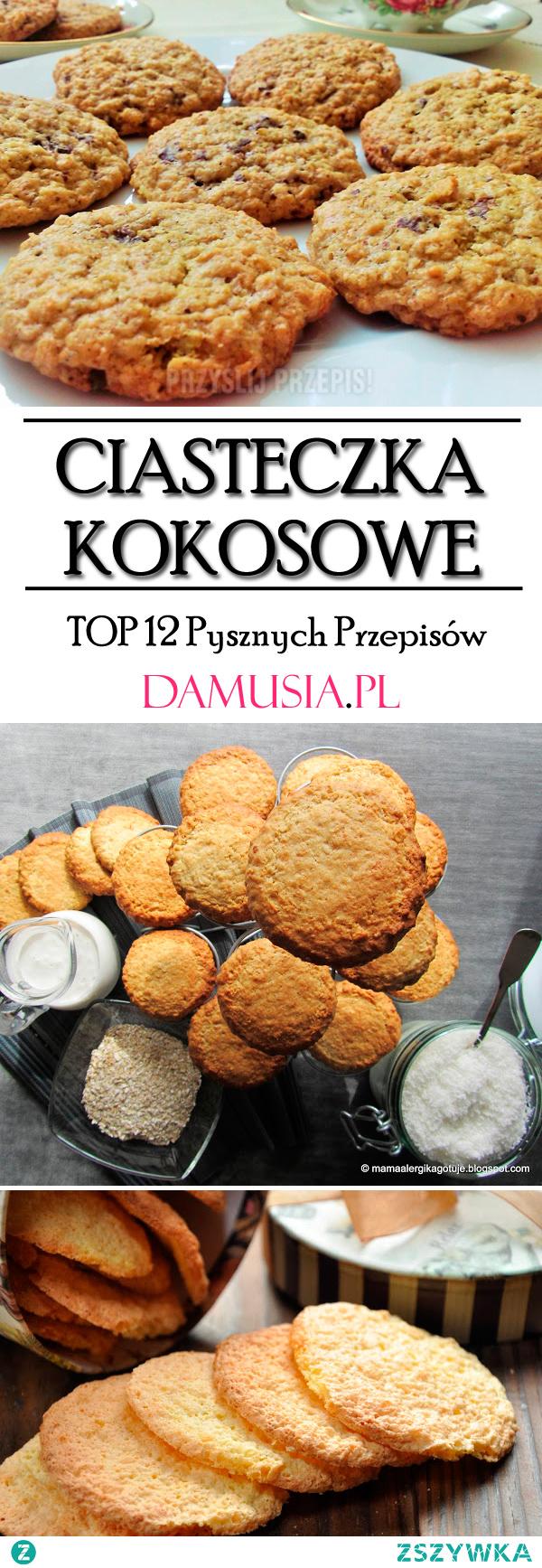 TOP 12 Pysznych Przepisów na Ciastka Kokosowe