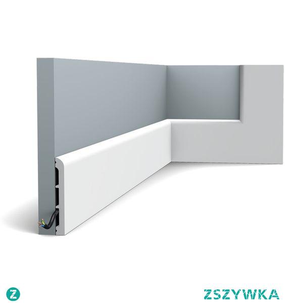 Wysoka, gładka, biała listwa przypodłogowa DX184 Orac Decor Cascade z kolekcji Axxent to najwyższy profil z owej kolekcji. Dany model DX184 gładkiej listwy przypodłogowej o wysokości 11 cm, który śmiało możemy zastosować także jako listwę sufitową. Tego typu sztukateria wielofunkcyjna daje nam całe spektrum możliwości wszelkiego rodzaju zastosowań w projektowanych wnętrzach.