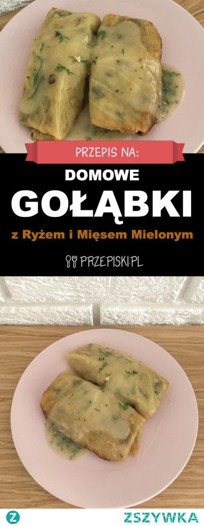 Domowe Gołąbki z Ryżem i Mięsem Mielonym – Pieczone w Piekarniku