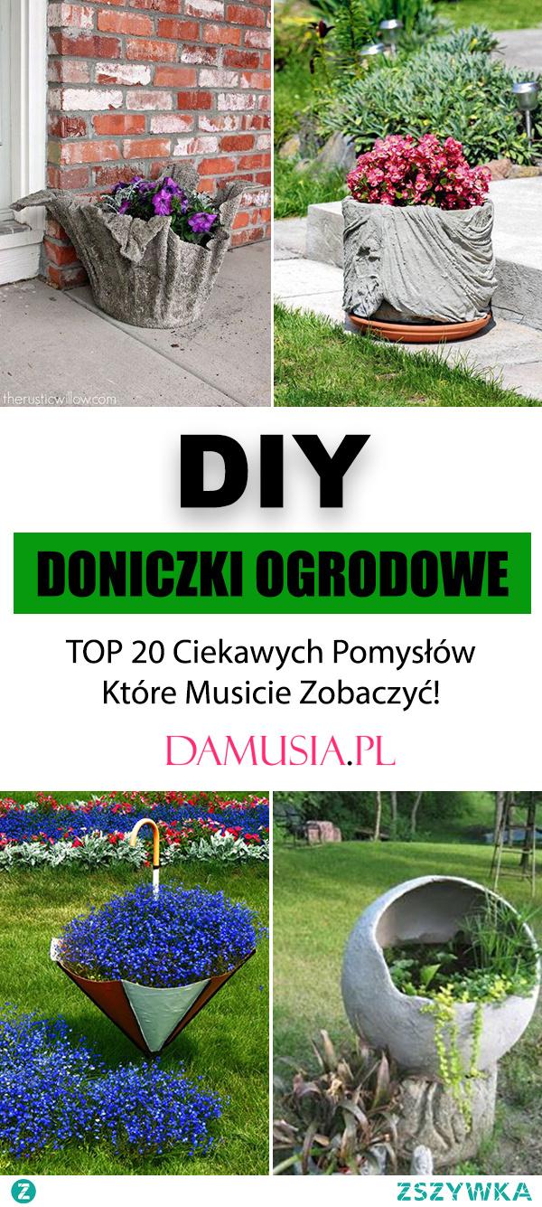 DIY Doniczki Ogrodowe – TOP 20 Ciekawych Pomysłów Które Musicie Zobaczyć!