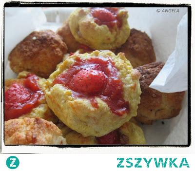 Ciasteczka z truskawkami - Strawberry Cookies - Biscotti con le fragole