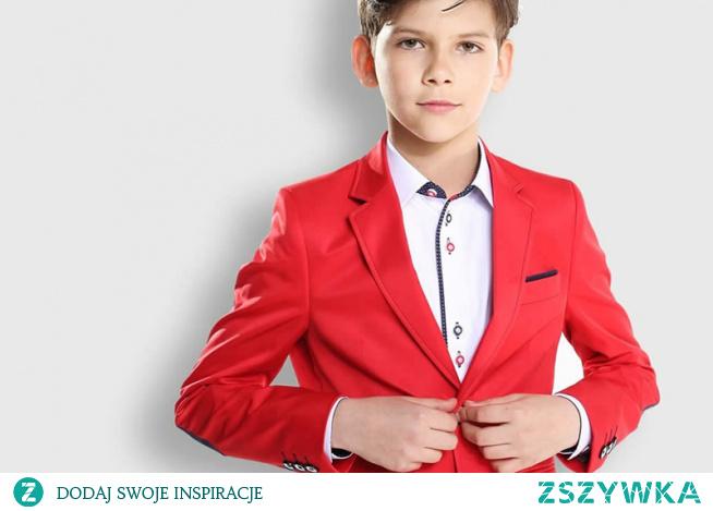 Marynarka na co dzień dla Twojego syna to idealny element ubrania na wesele dla najmłodszych. Kupisz ją w Standar!