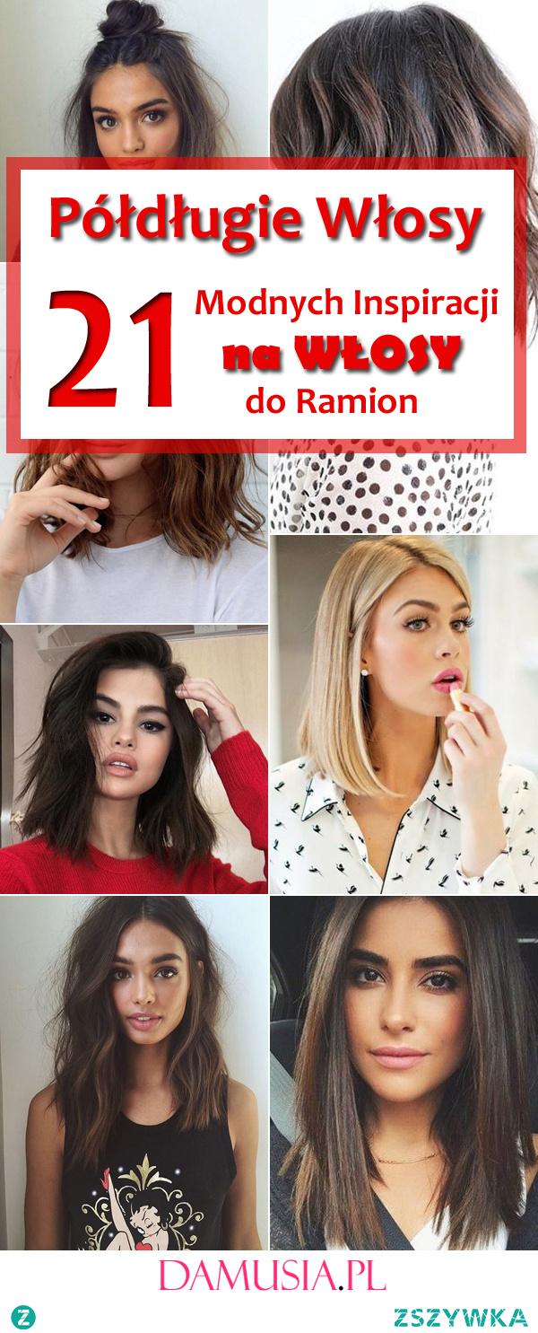 Półdługie Włosy: 21 Fenomenalnych Inspiracji na Włosy do Ramion
