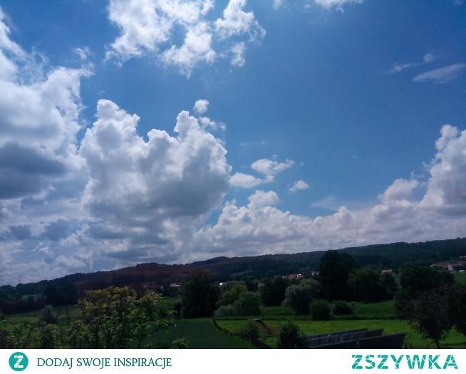 Ładne niebo... ;)
