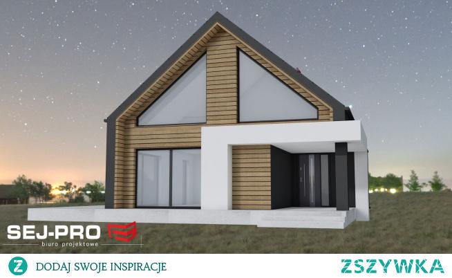 Oczarował mnie! SEJ-PRO 058 to piękny projekt mega nowoczesnej stodoły! Duże przeszklenia i antresola - już moja wyobraźnia działa jak to może cudownie wyglądać :)