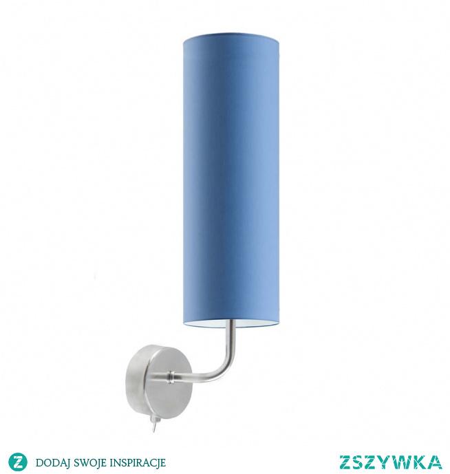 Czy można wyobrazić sobie bardziej uroczą lampę od tego modelu? Kinkiet NEWADA, to rodzaj oświetlenia idealnie wpisującego we wnętrza o charakterze dziecięcym. Lampę możemy umieścić w kąciku zabaw tak, by malec miał w nim wystarczająco jasno i przytulnie. Oświetlenie wyróżniać się będzie także obok miejsca do zasypiania. Niewielki abażur lampy w kształcie tuby w połączeniu z drobnym stelażem, nadają tej lampie niezwykłego uroku. Do oświetlenia pasować będzie żarówka o gwincie E14 i mocą do 60 W.  Do wyboru mamy kilkanaście kolorów abażurów (biały, ecru, jasny szary, miętowy, musztardowy, jasny różowy, jasny fioletowy, beżowy, szary (stalowy), czerwony, niebieski, fioletowy, zielony butelkowy, granatowy, grafitowy, brązowy, czarny oraz szary melanż (tzw. betonowy)) i 2 kolorów stelaży (chrom, stal szczotkowana).