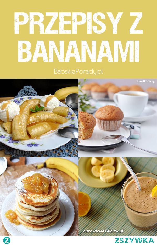 10 Prostych Przepisów z Bananem w Roli Głównej