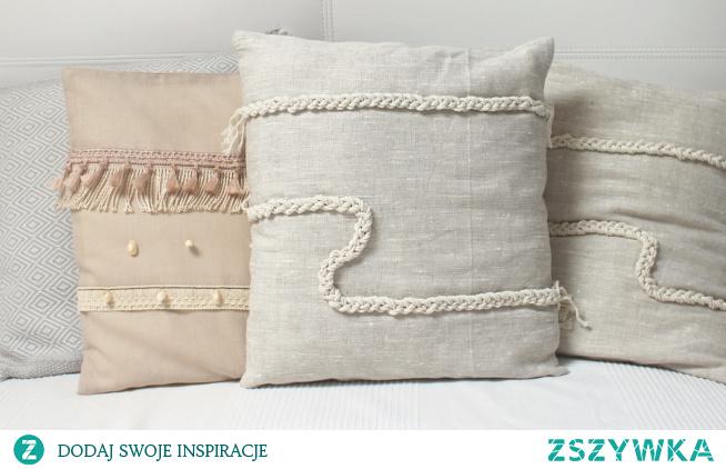 Poduszki DIY w stylu marynarskim