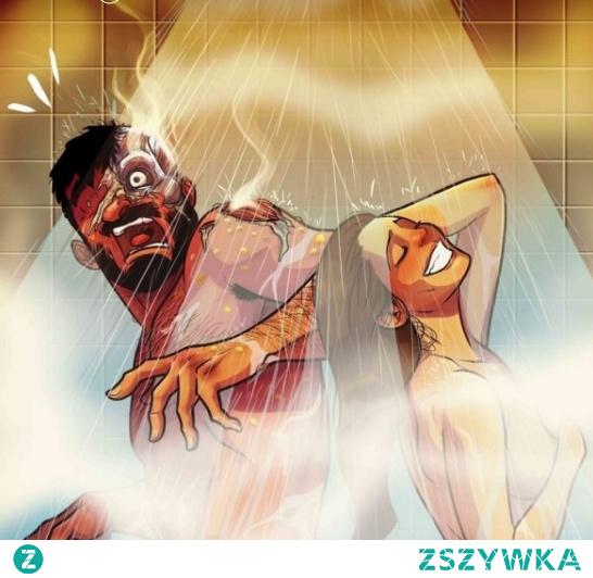 Podobno KOBIETY uwielbiają GORĄCE prysznice, ponieważ przypominają im PIEKŁO, z którego pochodzą ❤️ #couple #love