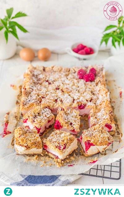 Ciasto malinowa pianka - Najlepsze przepisy | Blog kulinarny - Wypieki Beaty