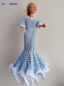 Błękitna suknia Barbie -Maj 2020r.
