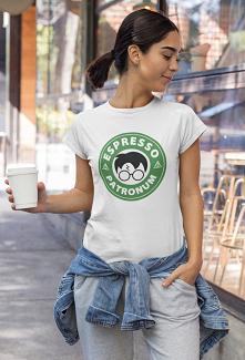 Koszulka z  zabawnym napise...