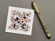 Rysowanie Zentangle, proste...