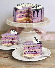 Tort JAGODOWY i Drip Cake. Przepis po klkinięciu w zdjęcie.