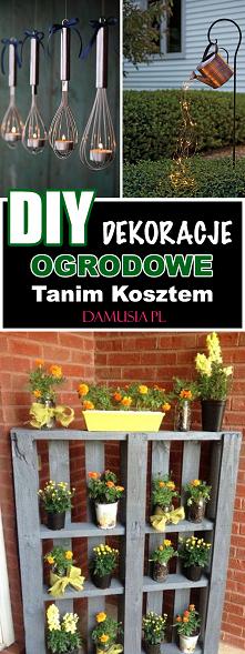 DIY Dekoracje Ogrodowe Tani...