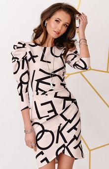 Roco Ołówkowa sukienka z bu...