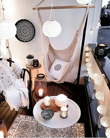 #balkon #huśtawki