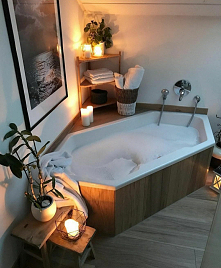 #łazienka #romantycznie
