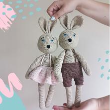 KURS SZYDEŁKOWANIA Już niedługo pojawi się na moim sklepie kurs gdzie nauczę was dziergać te króliczki ❤️ jak wam się podobają? @nessing_handmade #diy #zrobtosam #kreatywnyczas ...